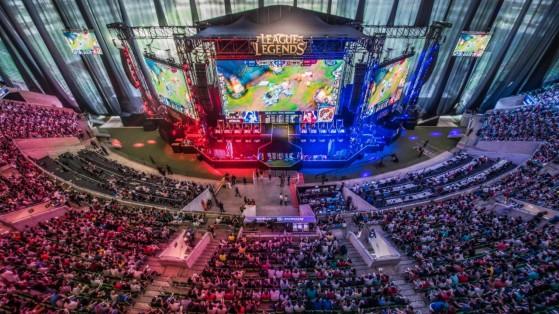 Final do CBLoL 2015, realizado no Allianz Parque | Foto: Riot Games/Reprodução - League of Legends