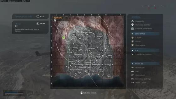 Mapa de Warzone - Call of Duty: Modern Warfare