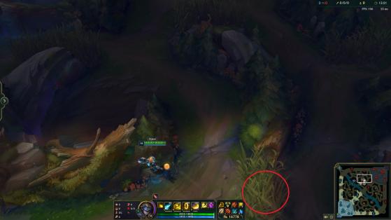 A entrada da selva inimiga pela rota do meio é muito utilizada - League of Legends