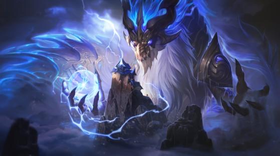 Aurelion Sol Dragão da Tormenta - 1350 RP | Imagem: Riot Games/Reprodução - League of Legends