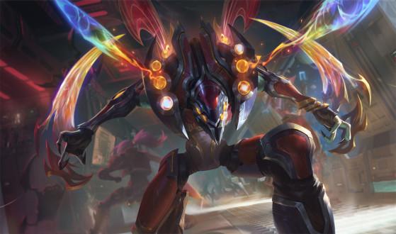 Kha'Zix Odisseia - 1350 RP | Imagem: Riot Games/Reprodução - League of Legends