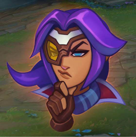 Emote: Hmm | Imagem: Riot Games/Reprodução - League of Legends