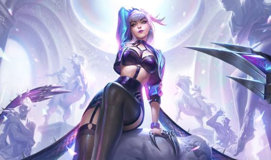 Evelynn K/DA ALL OUT - 1350 RP | Imagem: Riot Games/Reprodução - League of Legends