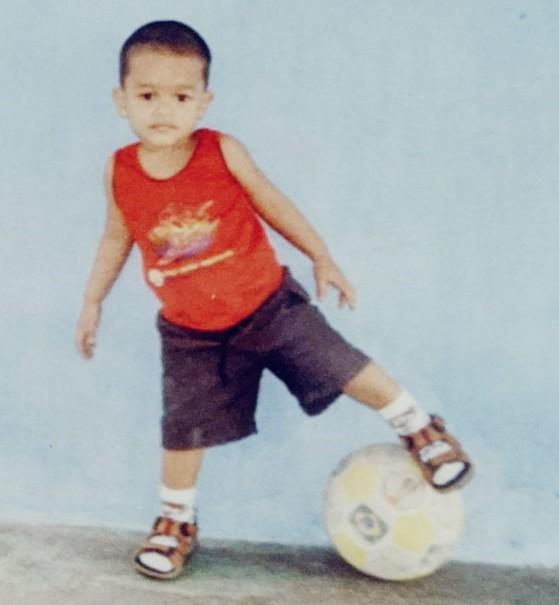 Cariok quando criança | Foto: Acervo pessoal - League of Legends