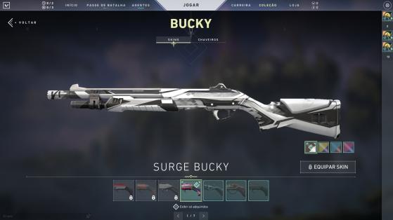 Surge Buck com cores variadas - Valorant