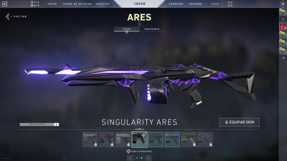 Singularity Ares - Valorant