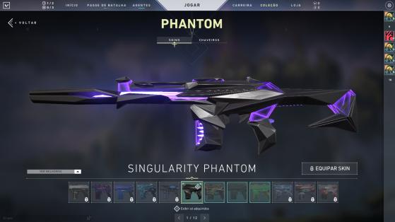 Singularity Phantom - Valorant
