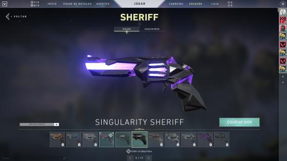 Singularity Sheriff - Valorant