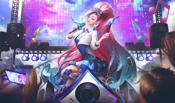 Seraphine Rumo ao Estrelato. Foto: Riot Games/Reprodução - League of Legends