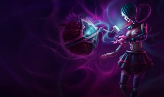 Orianna Gótica do LoL - League of Legends