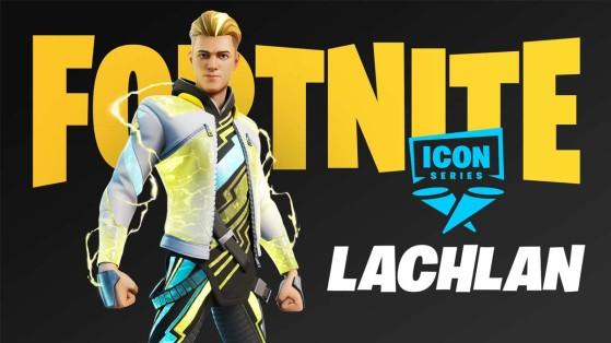 Fortnite: Streamer Lachlan recebe skin da linha Ícones