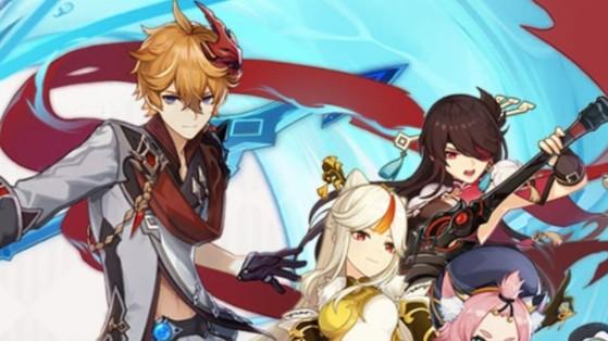 Genshin Impact: Veja Tartaglia e mais personagens da atualização 1.1