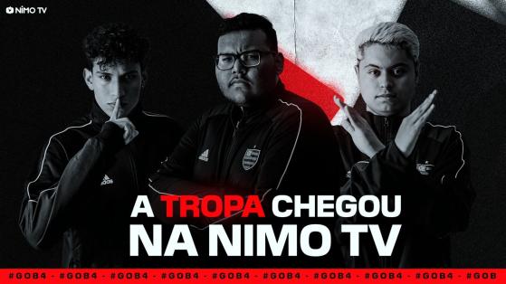 Free Fire: Flamengo B4 e Nimo TV fecham parceria