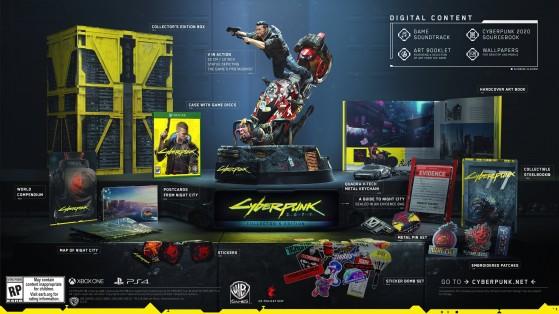 Edição de colecionador de Cyberpunk 2077 já está disponível; conheça todos os itens do pacote