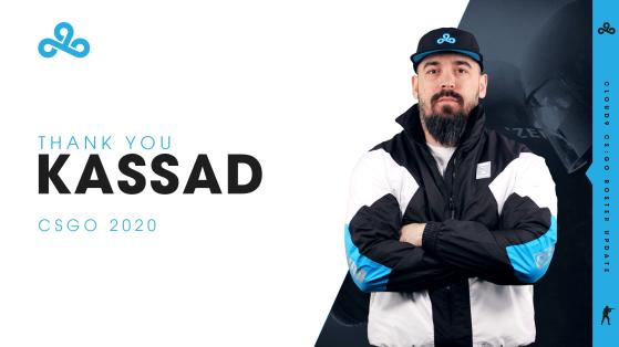 CS:GO: Cloud9 anuncia saída do técnico Kassad