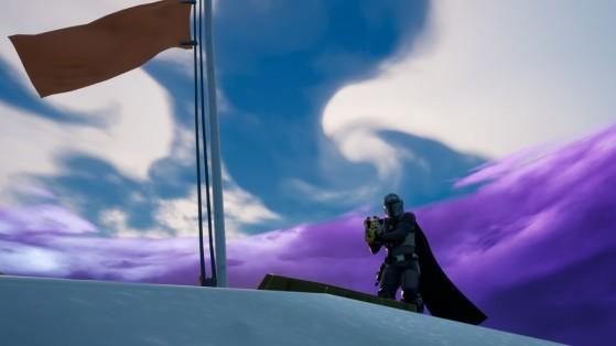 Fortnite Temporada 5: Encontre Aço Beskar onde a terra encontra o céu