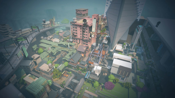 Mapa Split | Foto: Riot Games/Reprodução - Valorant
