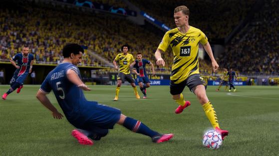Pedaladas sofreram atualizações em FIFA 21 (Foto: Divulgação/EA Sports) - FIFA 21