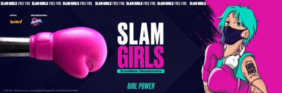 Conheça o Slam Girls, campeonato feminino de Free Fire