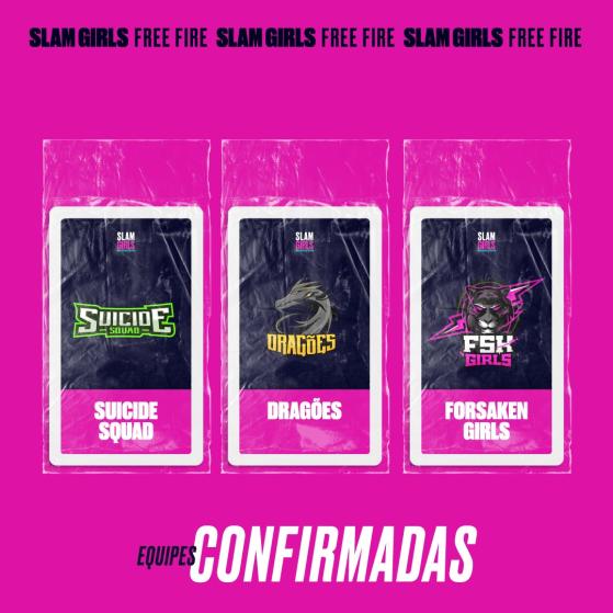 Suicide Squad, Dragões e Forsaken Girls - Free Fire