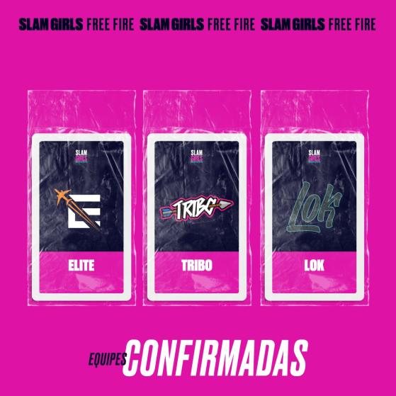 Elite, Tribo e Lok  — Foto: GrandSlam Championship - Free Fire