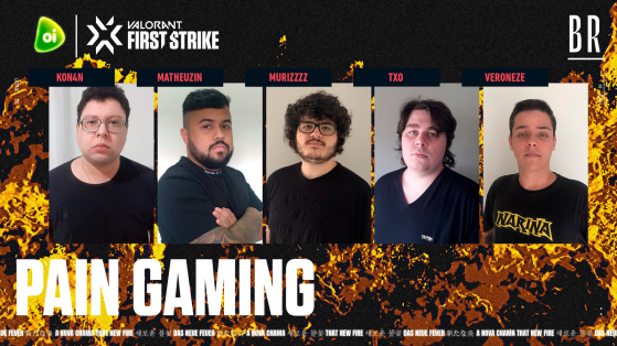 paiN Gaming | Foto: Riot Games Brasil/Reprodução - Valorant