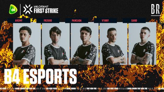 B4 Esports | Foto: Riot Games Brasil/Reprodução - Valorant