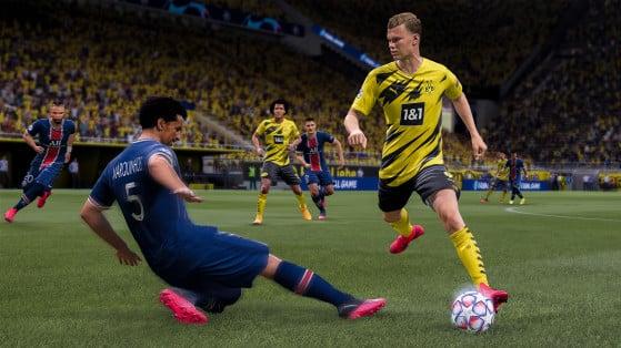 Haaland é um dos melhores centroavantes para esquemas que contam com atacantes pelas pontas - FIFA 21