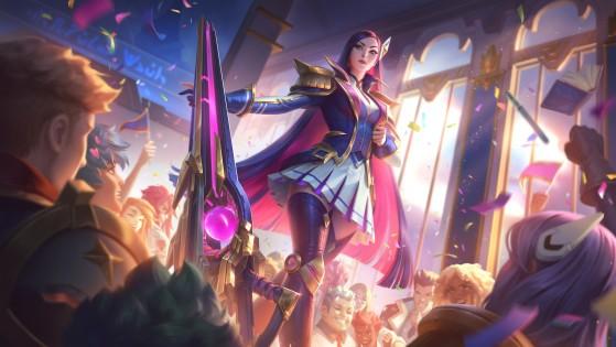 Caitlyn Academia de Batalha | Foto: Riot Games/Reprodução - League of Legends