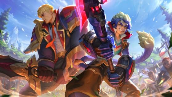 Garen e Wukong Academia de Batalha | Foto: Riot Games/Reprodução - League of Legends