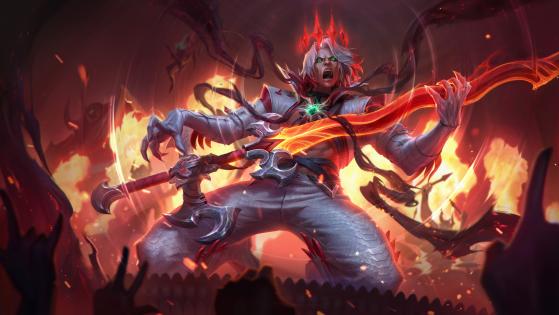 Splash Art de Viego Dissonância da Pentakill — Foto: Riot Games/Reprodução - League of Legends