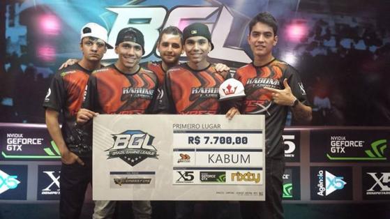 FalleN campeão da Brasil Gaming League (BGL) pela KaBuM! | Foto: Reprodução - Counter-Strike: Global Offensive