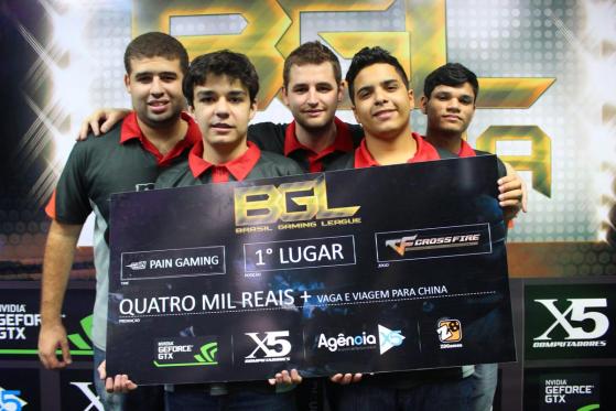 FalleN campeão da Brasil Gaming League (BGL) pela paiN Gaming | Foto: Reprodução - Counter-Strike: Global Offensive