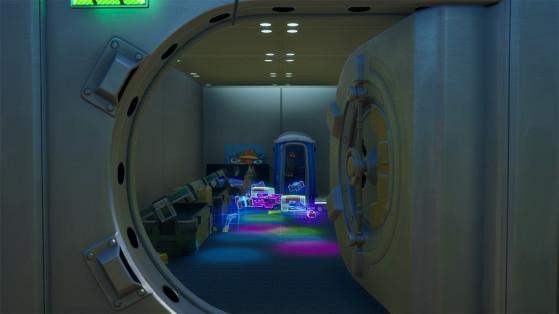 Fortnite Aventura de Skye: Fuja de um cofre por uma passagem secreta