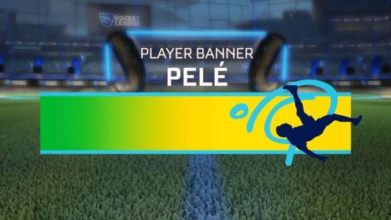 Cartão de Jogador Pelé.   Imagem: Psyonix - Millenium