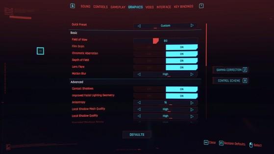 Cyberpunk 2077 precisa de alguns ajustes nas opções gráficas para apresentar melhor desempenho (Foto: Divulgação/DC Projekt Red) - Cyberpunk 2077