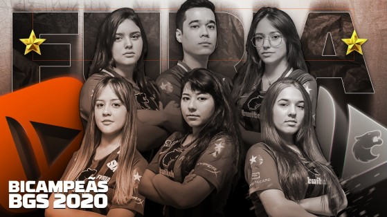 CS:GO: FURIA Fem é bicampeã da BGS 2020