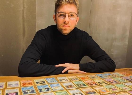 Pokémon TCG: Campeão mundial de futebol tem coleção de cartas da 1ª geração