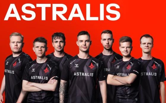 Atual elenco da Astralis conta com 7 jogadores | Foto: Astralis/Reprodução - Counter-Strike: Global Offensive