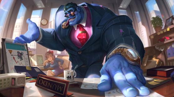 Diretor Mundo (Lendária) - League of Legends