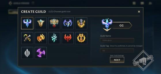 Visão da tela de seleção de ícone da Guilda de Wild Rift  Riot Games/Reprodução - Wild Rift