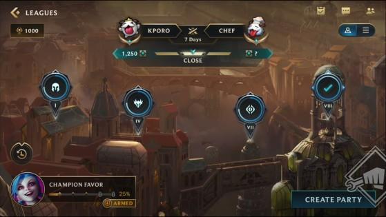 Tela de progresso das missões de comunidade do GvG de Wild Rift   Riot Games/Reprodução - Wild Rift