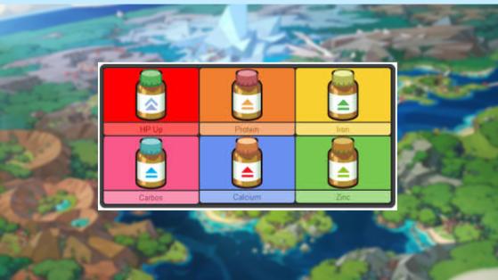 Pokémon Sword and Shield: Bebidas Nutritivas e Suplementos