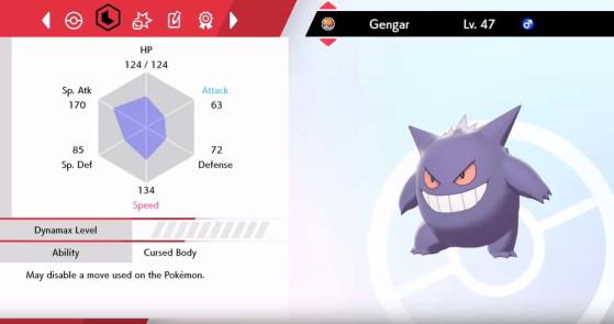 Depois de usar Calcium - Pokémon Sword and Shield