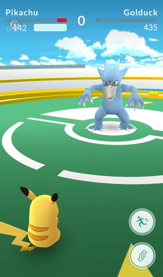 Derrote Pokémons para tomar o controle de um ginásio - Pokémon GO