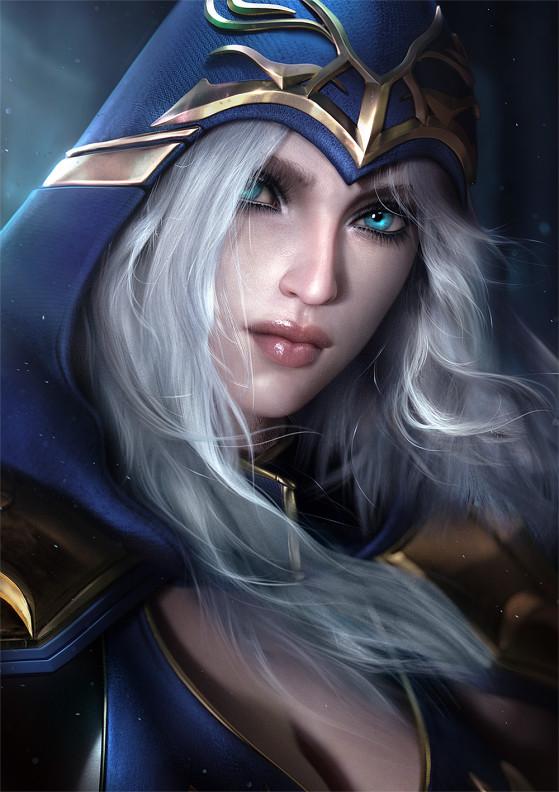 Ashe | Foto: SevenBees/Reprodução - League of Legends