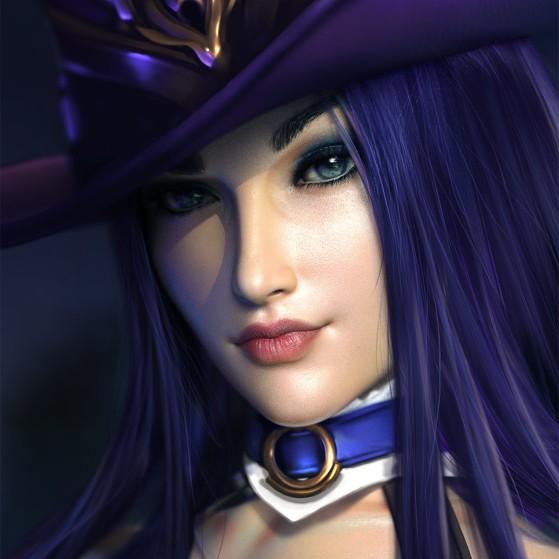 Caitlyn | Foto: SevenBees/Reprodução - League of Legends