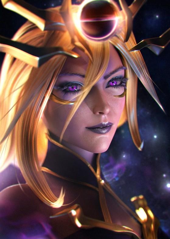Dark Cosmic Lux | Foto: SevenBees/Reprodução - League of Legends