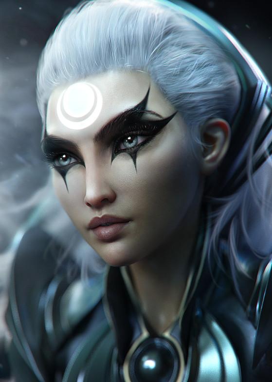 Diana | Foto: SevenBees/Reprodução - League of Legends