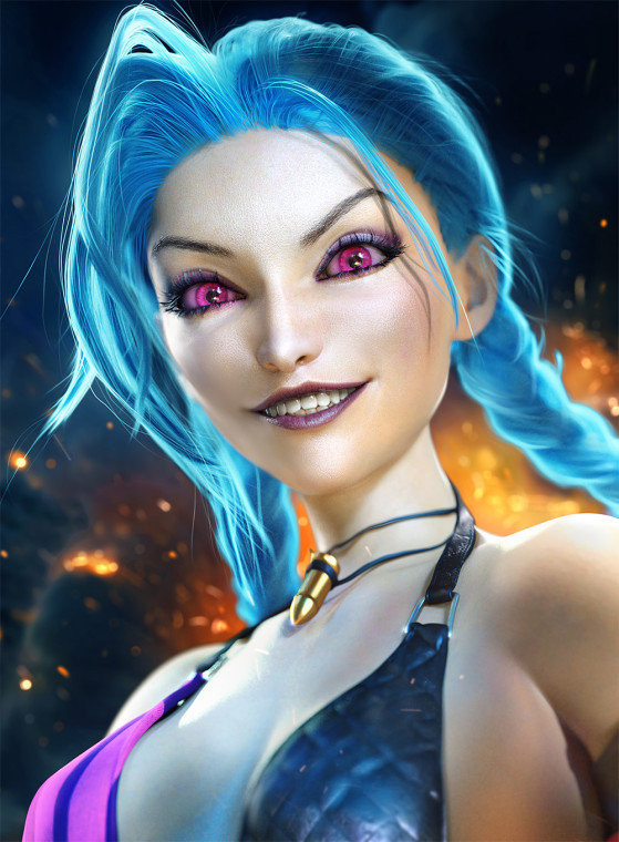 Jinx | Foto: SevenBees/Reprodução - League of Legends